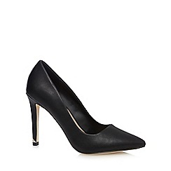 Call It Spring - Black 'Nusa' high stiletto heel court shoes