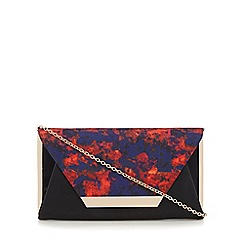 Call It Spring - Dark red 'Timberlake' clutch bag
