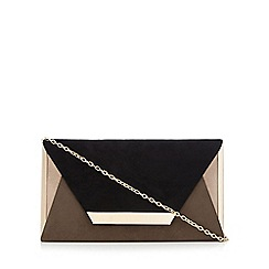 Call It Spring - Black and grey 'Timberlake' clutch bag