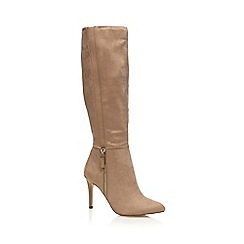 Call It Spring - Beige 'Monfils' knee length high boots