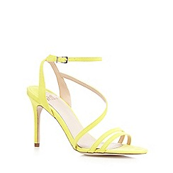 Faith - Yellow 'Lucas' high sandals