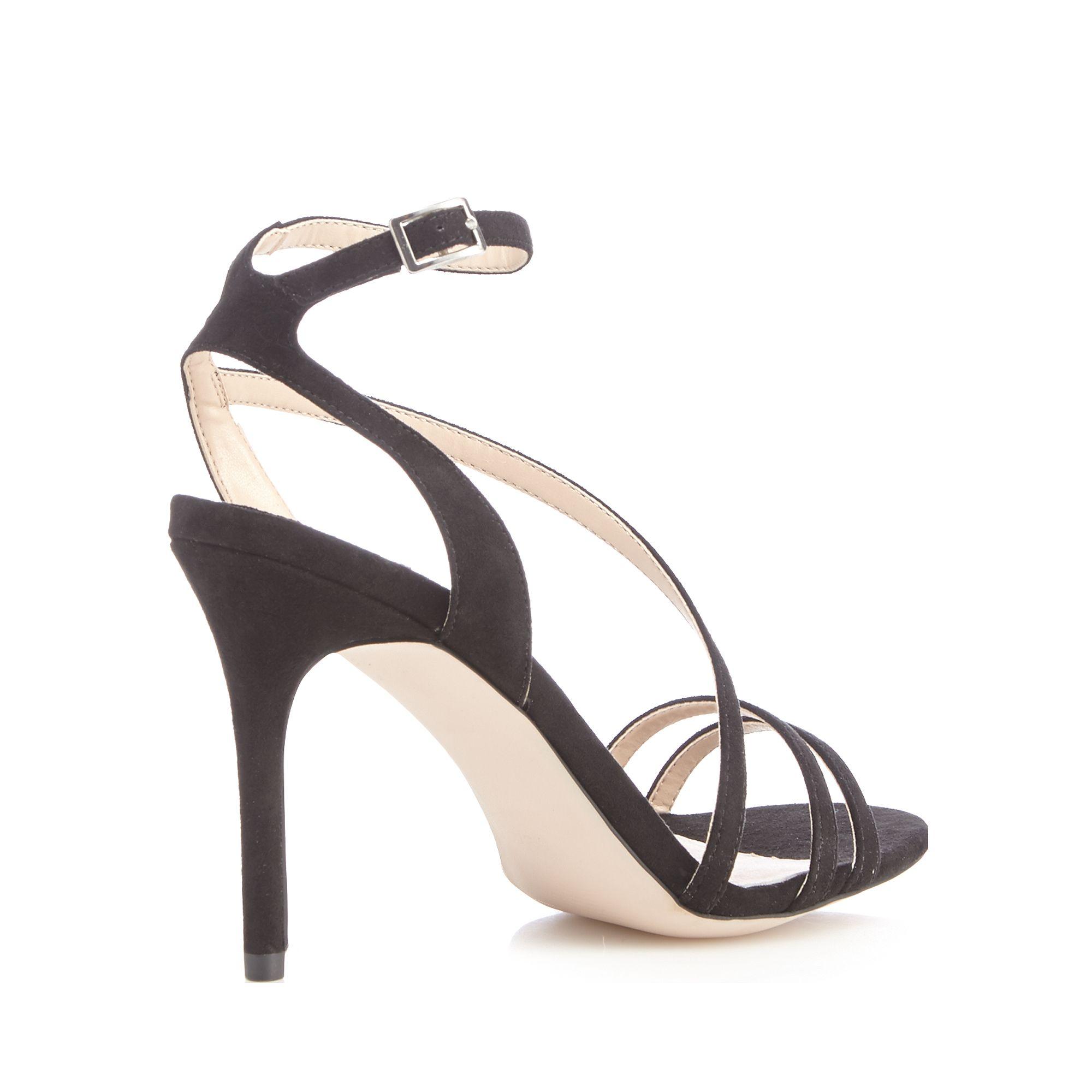 Black sandals debenhams - Faith Black 039 Lucas 039 High Stiletto Heel