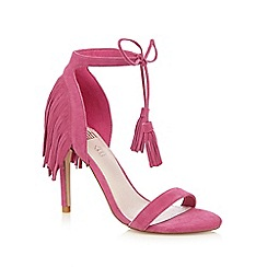 Faith - Pink 'Lacey' high sandals