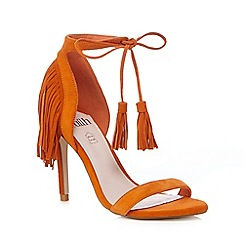 Faith - Orange high sandals