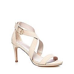 Faith - Light pink 'Daisy' high crossover sandals