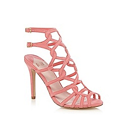Faith - Bright pink 'Luis' high sandals