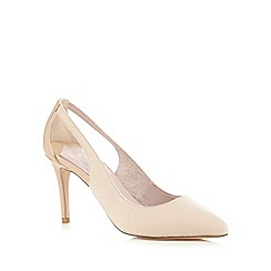 Faith - Light pink 'Caitlin' cut-out court shoes