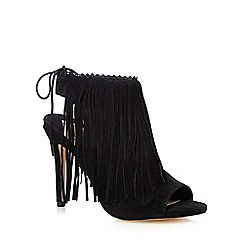 Faith - Black 'Deseree' shoe boots