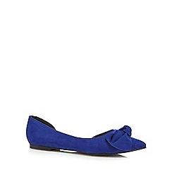 Faith - Blue 'Aubrey' slip-on shoes