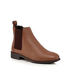 Faith - Tan 'Binky' Chelsea boots