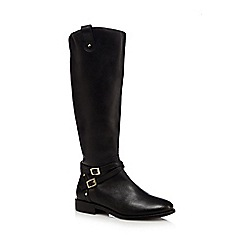 Faith - Black 'Millie' calf length boots
