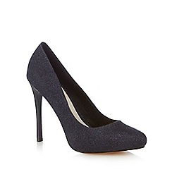 Faith - Dark blue 'Candy' high court shoes