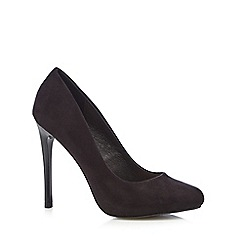 Faith - Black 'Candy' high stiletto heel court shoes