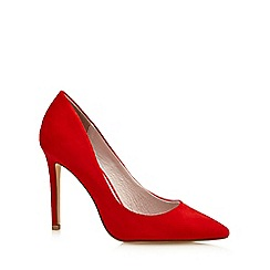 Faith - Red 'Chloe' textured high court shoes