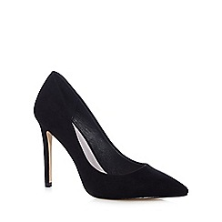 Faith - Black 'Chloe' textured courts