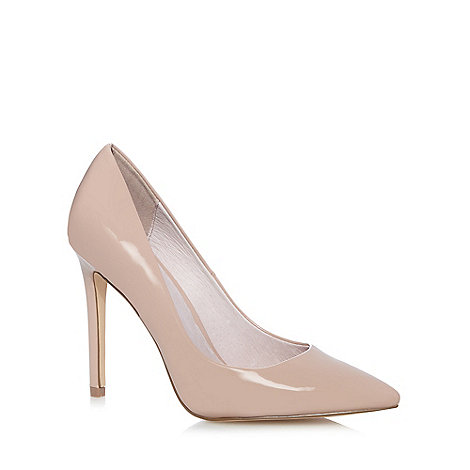 faith light pink patent high stiletto pointed