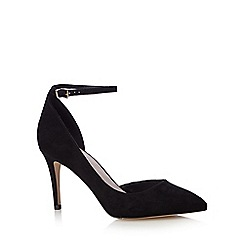 Faith - Black 'Cady' hight pointed court shoes
