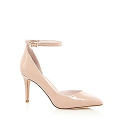 Faith - Natural 'Cady' high stiletto heel pointed shoes