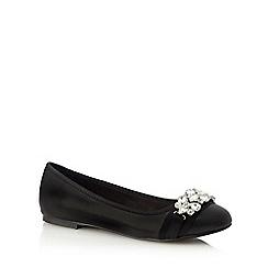 Faith - Black 'Ashley' slip-on shoes