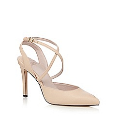 Faith - Light pink 'Cindy' high crossover sandals