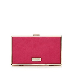 Faith - Pink 'Piper' clutch bag