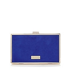 Faith - Blue 'Piper' clutch bag