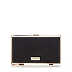 Faith - Black 'Piper' clutch bag