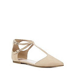 Faith - Light pink 'Amelia' T-bar shoes