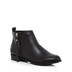 Faith - Black 'Belle' ankle boots