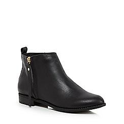 Faith - Black 'Belle' ankle boots