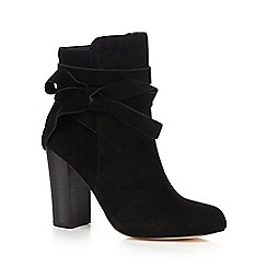 Faith - Black 'Brandy' high ankle boots