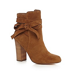 Faith - Tan 'Brandy' high ankle boots