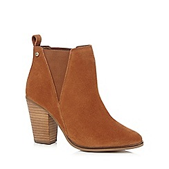 Faith - Tan 'Benny' high ankle boots