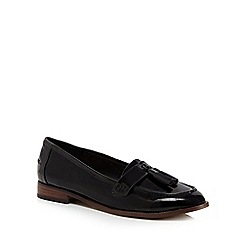 Faith - Black patent 'Annabel' loafers