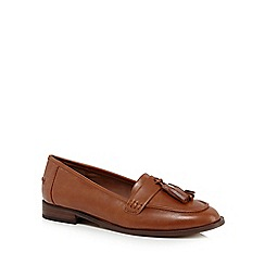 Faith - Tan 'Annabel' loafers