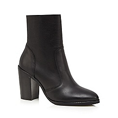 Faith - Black 'Bista' high heel ankle boots