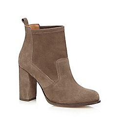 Faith - Grey 'Blair' high heel ankle boots