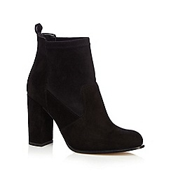 Faith - Black 'Blair' high heel ankle boots