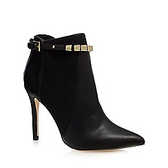 Faith - Black 'Bernice' high ankle boots