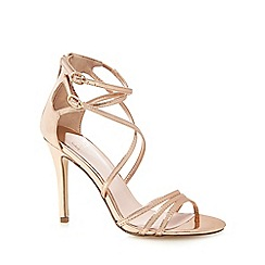 Faith - Rose 'Lizzie' high sandals