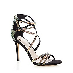 Faith - Black 'Lizzie' high sandals