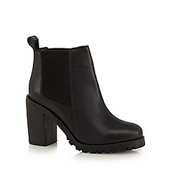 Faith - Black 'Barbara' ankle boots