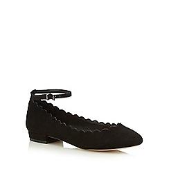 Faith - Black 'Alicia' flat shoes