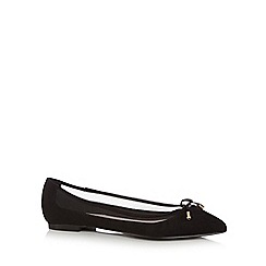 Faith - Black 'Adrienne' ballet pumps