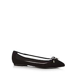Faith - Black 'Adrienne' slip-on shoes