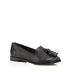 Faith - Black 'Andrea' slip-on shoes