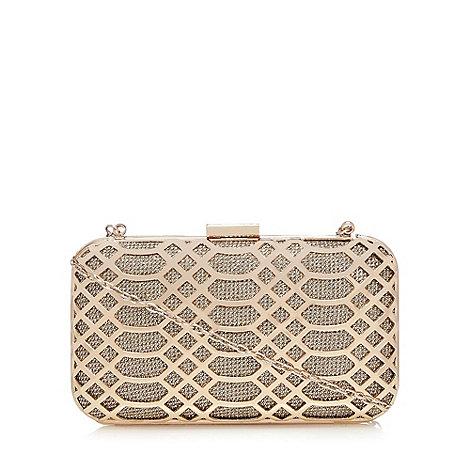 Faith - Gold +Francesca+ clutch bag