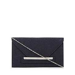 Faith - Navy 'Penny' clutch bag