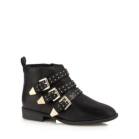 Faith - Black +Brixton+ ankle boots