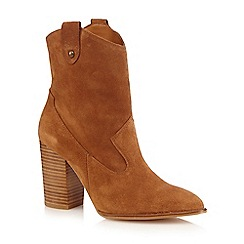 Faith - Tan 'Bali' high ankle boots